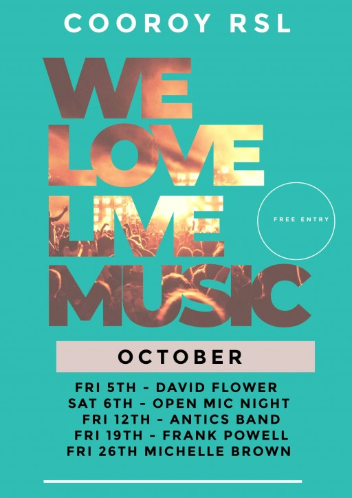 we love live music template with text mask poster 4