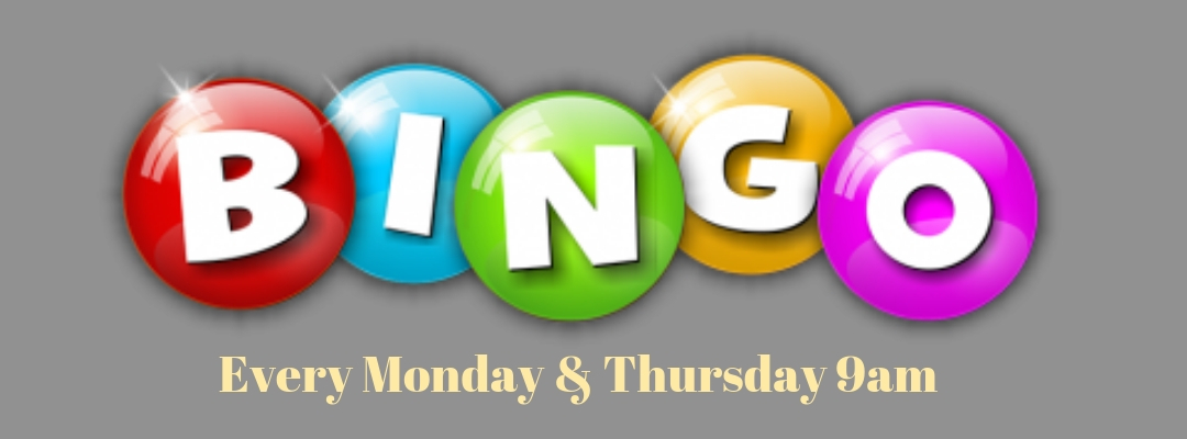 Bingo at Cooroy RSL Monday & Thursday mornings